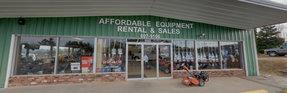 Affordable Equipment Rental Sales & Landscaping Supplies