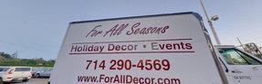 FOR ALL SEASONS COMMERCIAL & RESIDENTIAL CHRISTMAS DISPLAY AND LIGHTING